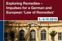 "Zum Artikel ""Exploring Remedies – Impulses for a German and European 'Law of Remedies'"""